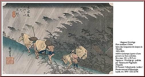 pluie soudaine hiroshige