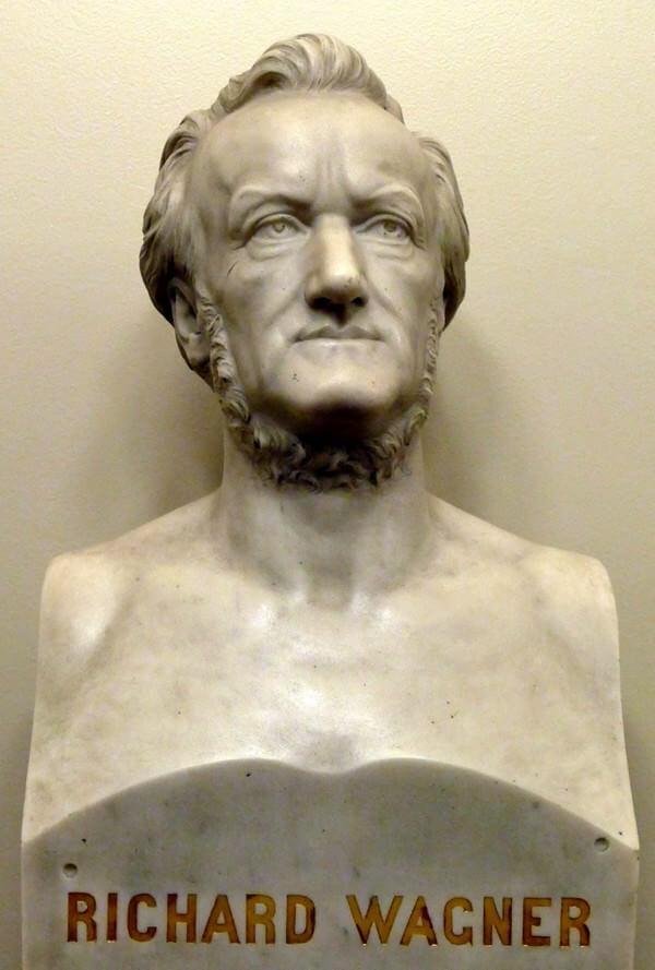 Buste de Wagner Semperoper de Dresde