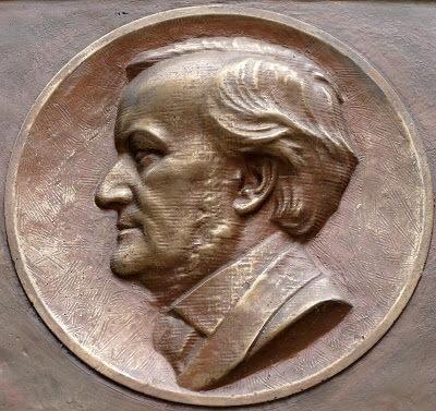 Dresden plaque commémorative à Wagner