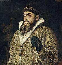 Tsar Ivan le Terrible