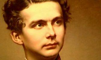 Portrait du jeune roi Louis II de Bavière