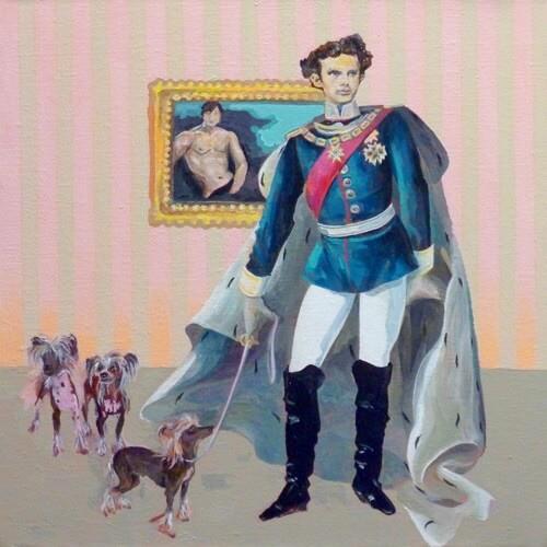 Louis II de Bavière oeuvre de Sophia Lube