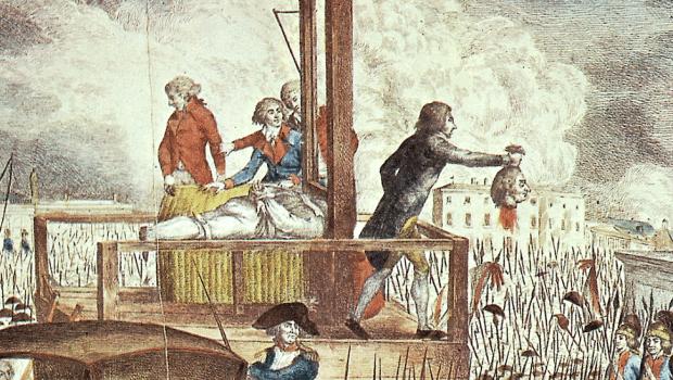 louis xvi sur la guillotine