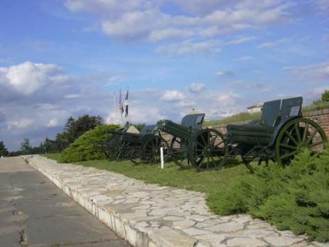 vojni muzej a belgrade canons