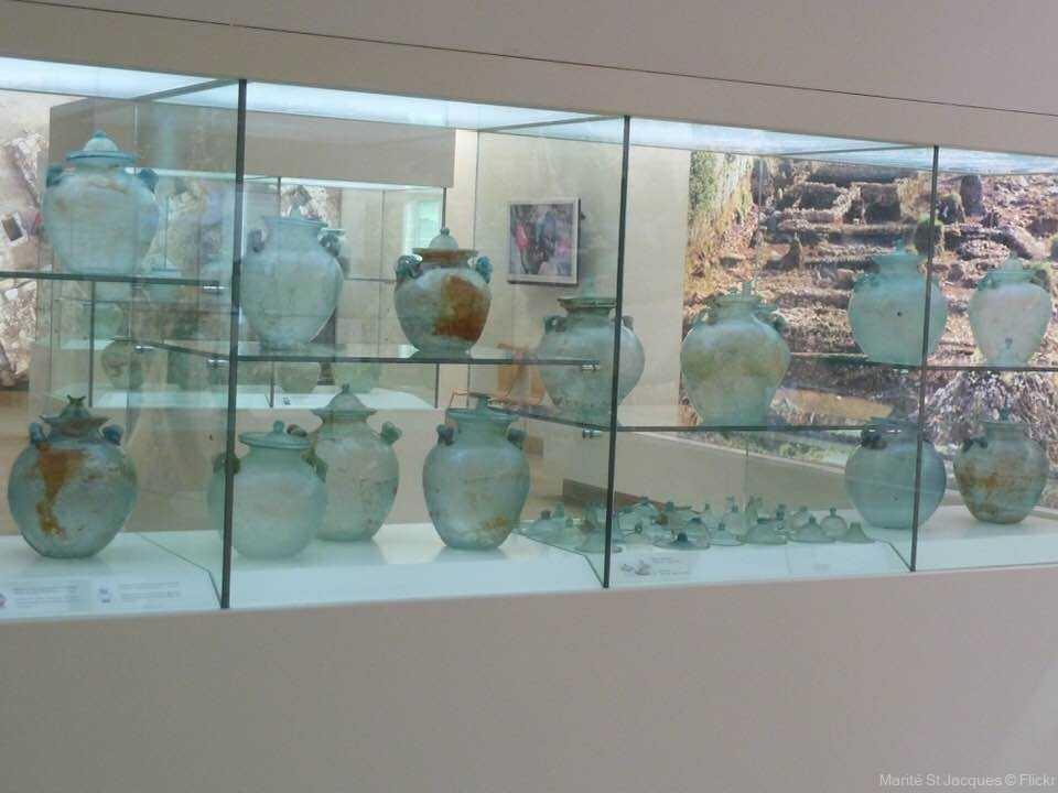 Zadar musée du verre