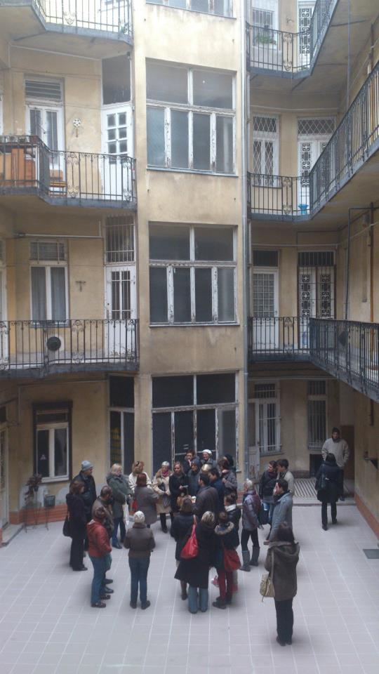budapest cour interieure immeuble