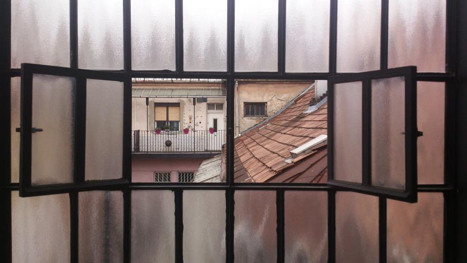 budapest vue sur balcon