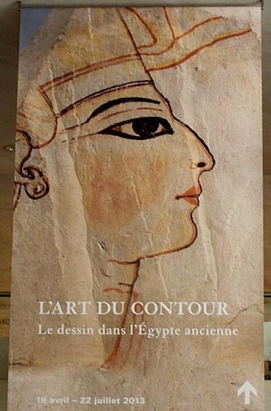 Louvre paris exposition art du contour dessin dans l - Dessin contour ...
