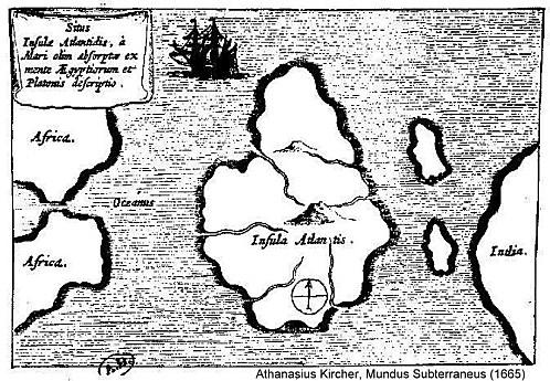 insula atlantis carte