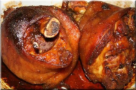jarret de porc bourguignon