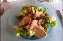 la caleche peyrens salade copeaux foie gras