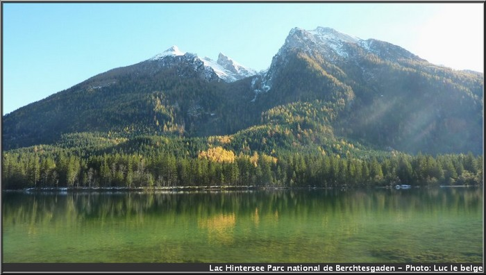 lac baviere Hintersee