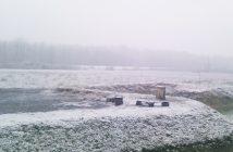 lonjsko polje en hiver