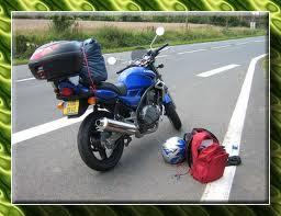 moto depart andalousie