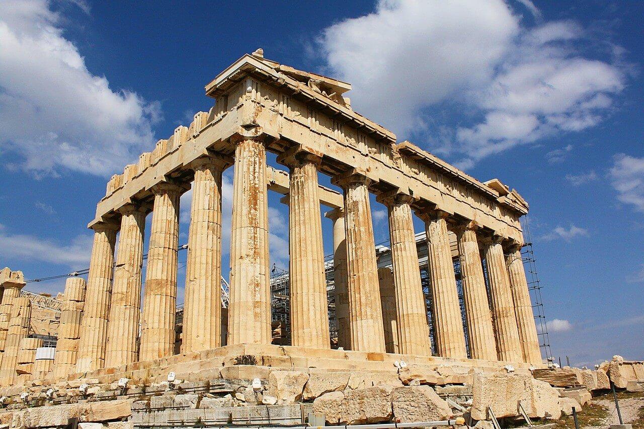 parthenon à Athènes