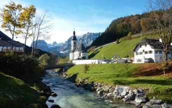 ramsau eglise pittoresque baviere