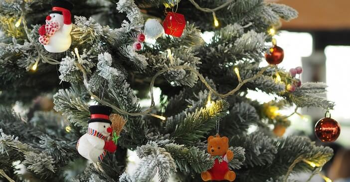sapin de noel décorations