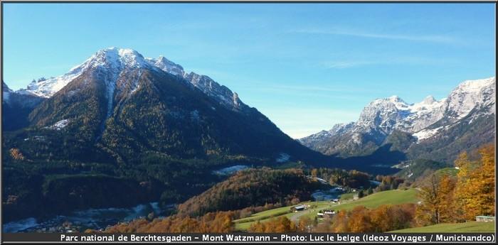 watzmann route allemande des alpes