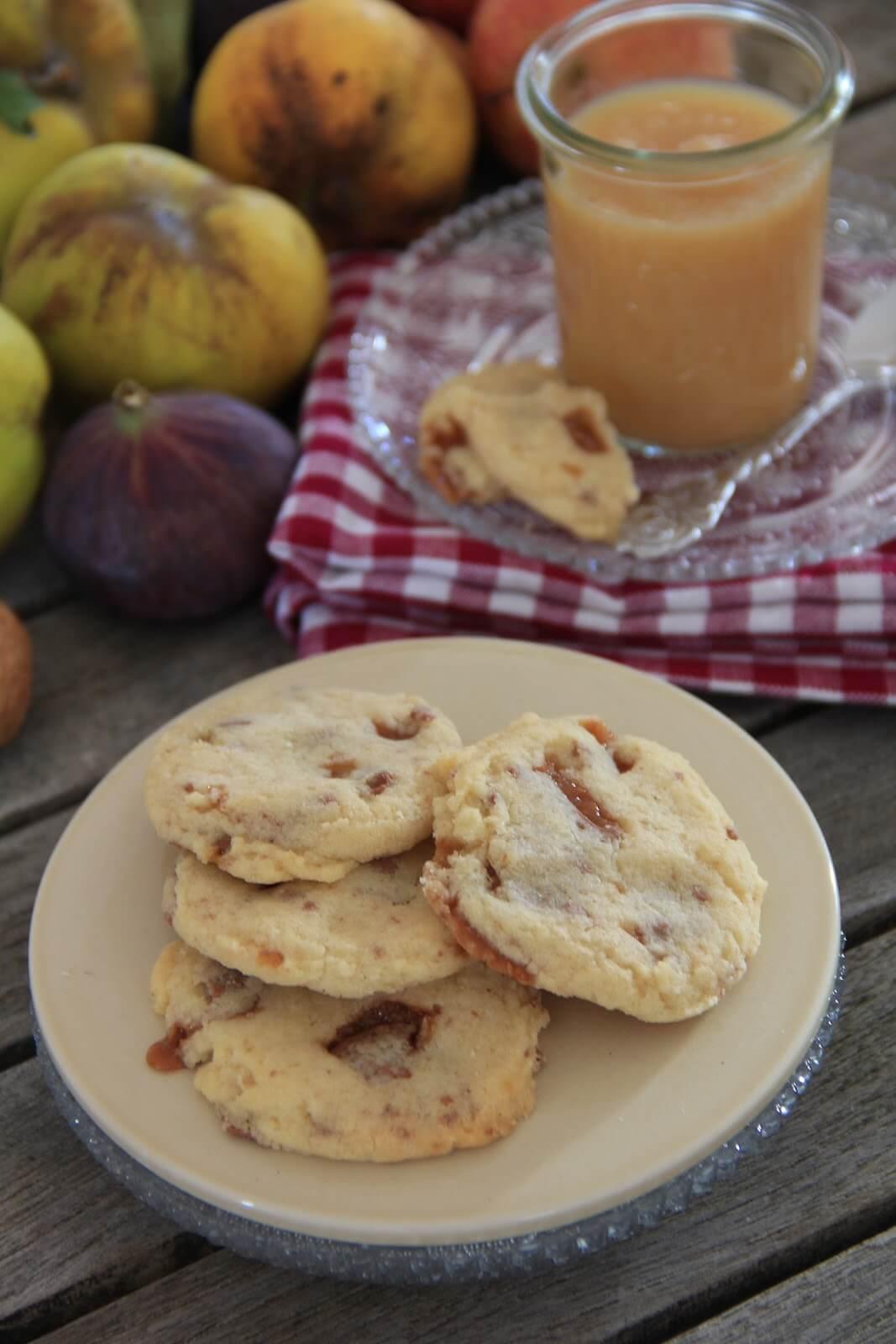 compote de pommes cookies aux daims