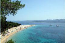 croatie plage zlatni rat brac
