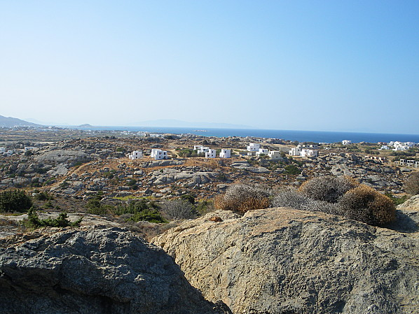cyclades naxos maisonnettes blanches