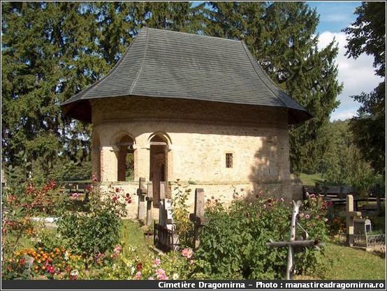 dragomirna cimetiere monastere roumanie