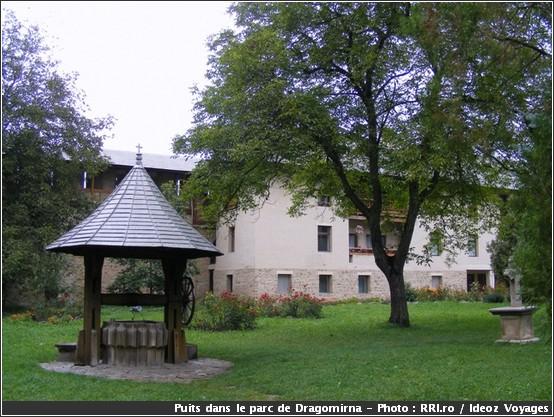 dragomirna monastere roumanie puits