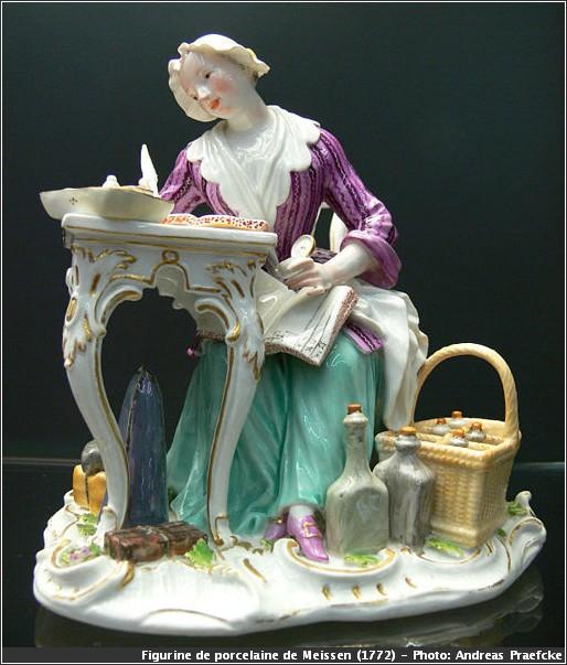 figurine porcelaine saxe meissen