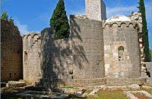 lokrum ruines