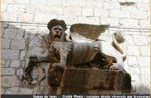 statue lion hvar