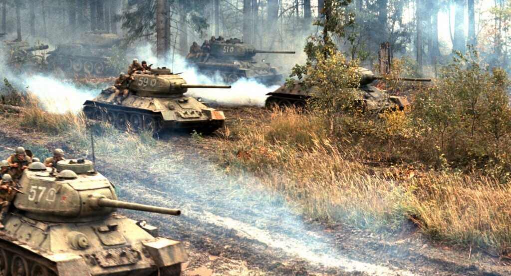 tigre blanc film russe de Karen Chakhnazarov attaques de tanks