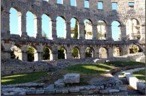 amphitheatre pula croatie