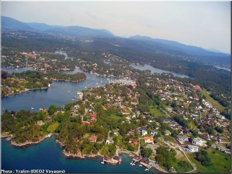 bergen norvege vue du ciel