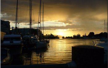 bergen port bateaux