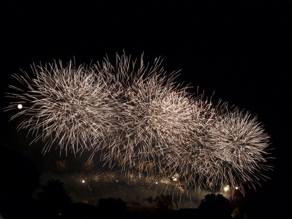 carcassonne feu artifice 2011