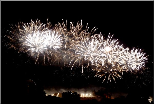 carcassonne feu artifice 2012