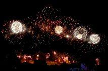 cite carcassonne feu artifice 2011
