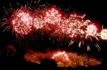 feu artifice 2012 carcassonne feux rouges