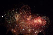 feu artifice bouquet final carcassonne 2011