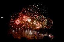feu artifice carcassonne 2011