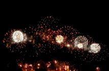 feu artifice carcassonne en 2011