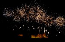 feu d'artifice carcassonne 2012