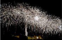 feu d'artifice carcassonne 2012 feux blancs