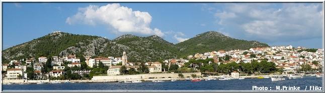 Hvar panorama croatie