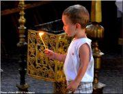 Sainte Nedelja Sofia Bulgarie enfant priere