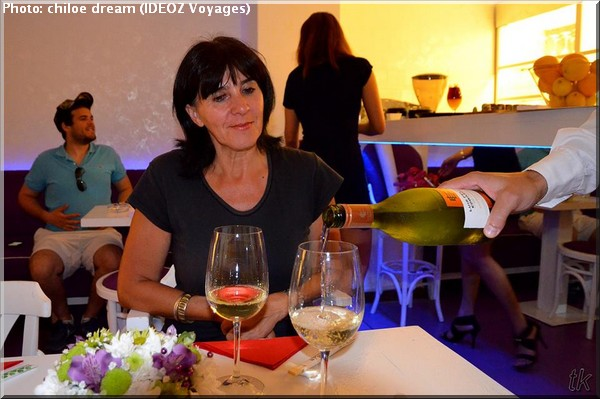 belgrade restaurant japonais verre de vin