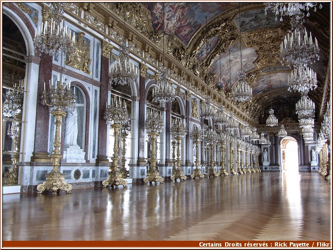 chateau herrenchiemsee galerie des glaces