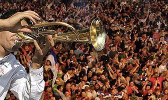 guca festival des trompettes en serbie