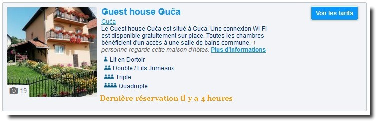 guest house guca