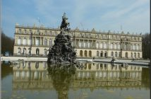 herrenchiemsee chateau louis 2 et fontaine